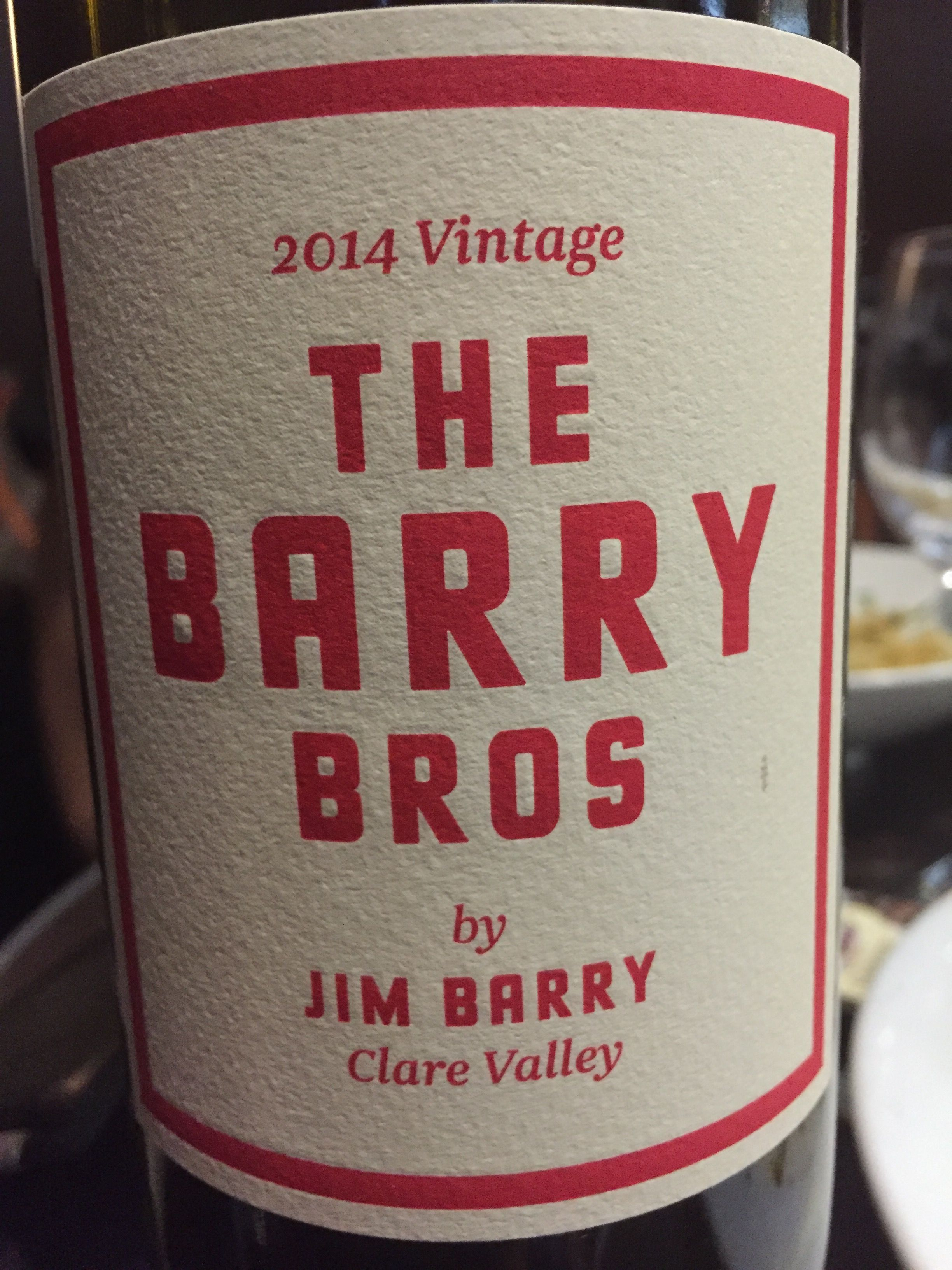 2014 Vintage The Barry Bros By Jim Barry Clare Valley Very Nice Shiraz Cabernet Sauvignon A Very Pl Clare Valley Dunkin Donuts Coffee Cup Cabernet Sauvignon