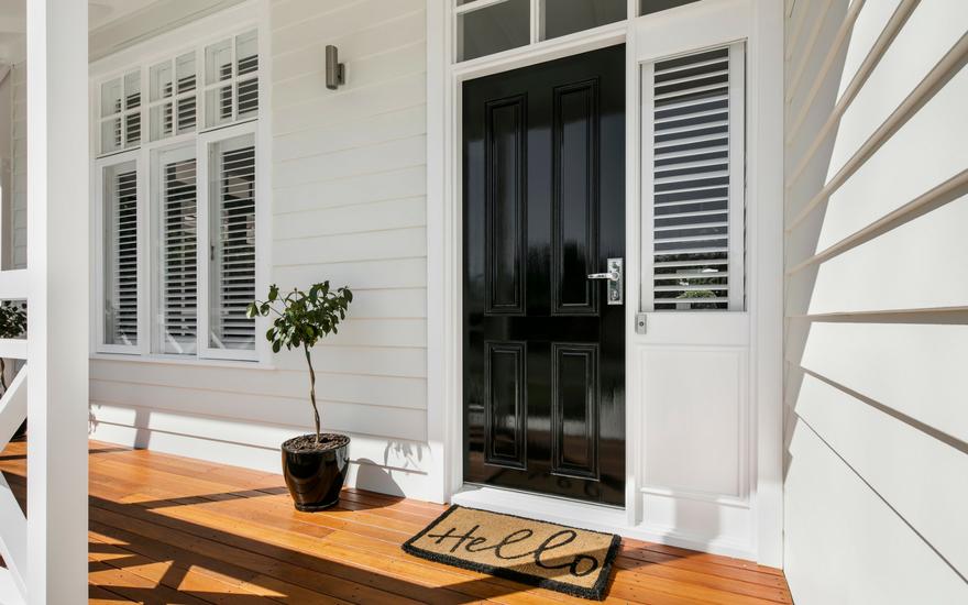 Australia S Unique Hamptons Style Scyon Wall Cladding And Floors New Build Pinterest