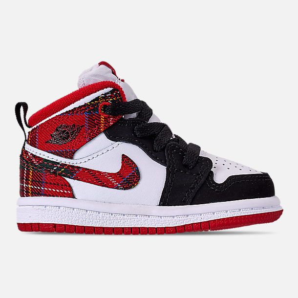 a7842d8236fbf4 Right view of Kids  Toddler Air Jordan 1 Mid Retro Basketball Shoes
