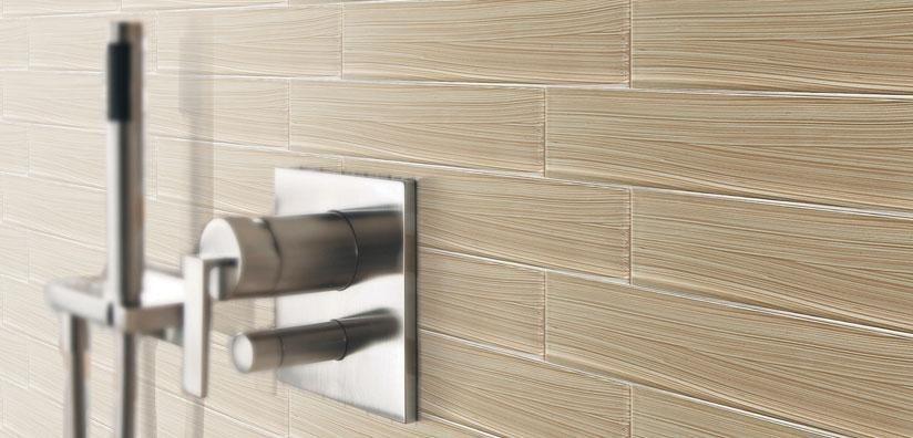 Bamboo Planks 2x12 Desert bellavita Glass tile