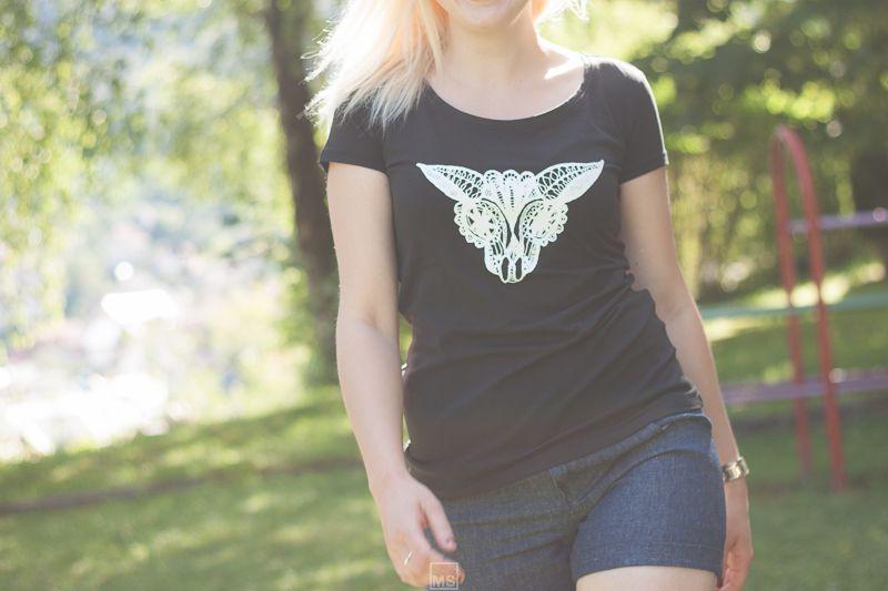 Anima Skull; print T-shirt; orders & info: +386 51 411 388 / +386 31 291 263 / lace@idrija2020.si