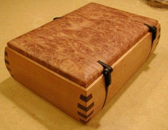 how to fix hinges in a wooden box