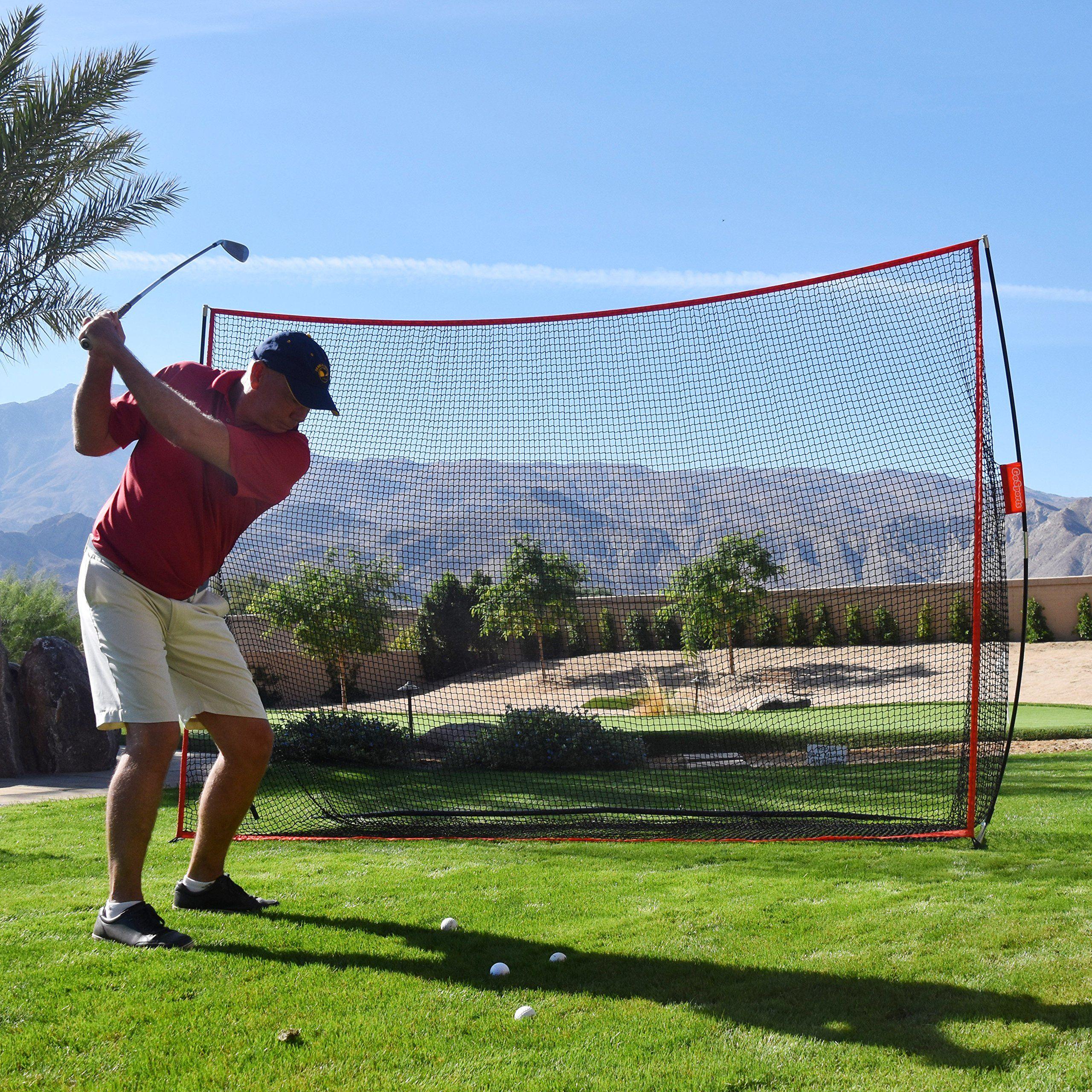 Golf Training >> GoSports Golf Practice Hitting Net Huge