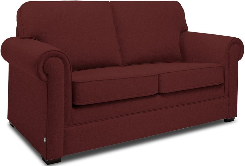 Pleasing Jay Be Classic Berry Sprung Sofa Bed With Mattress Beatyapartments Chair Design Images Beatyapartmentscom