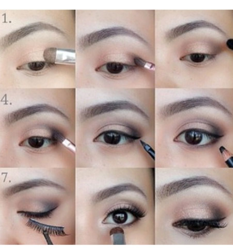A simple everyday eyeshadow look i dont need the falsies though a simple everyday eyeshadow look i dont need the falsies though eye makeup tutorialsmakeup baditri Gallery