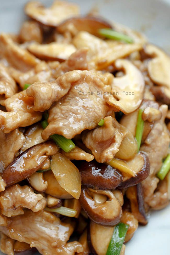 Pork and Mushroom Stir Fry is part of Pork recipes for dinner - Tender pork and mushroom stir fry