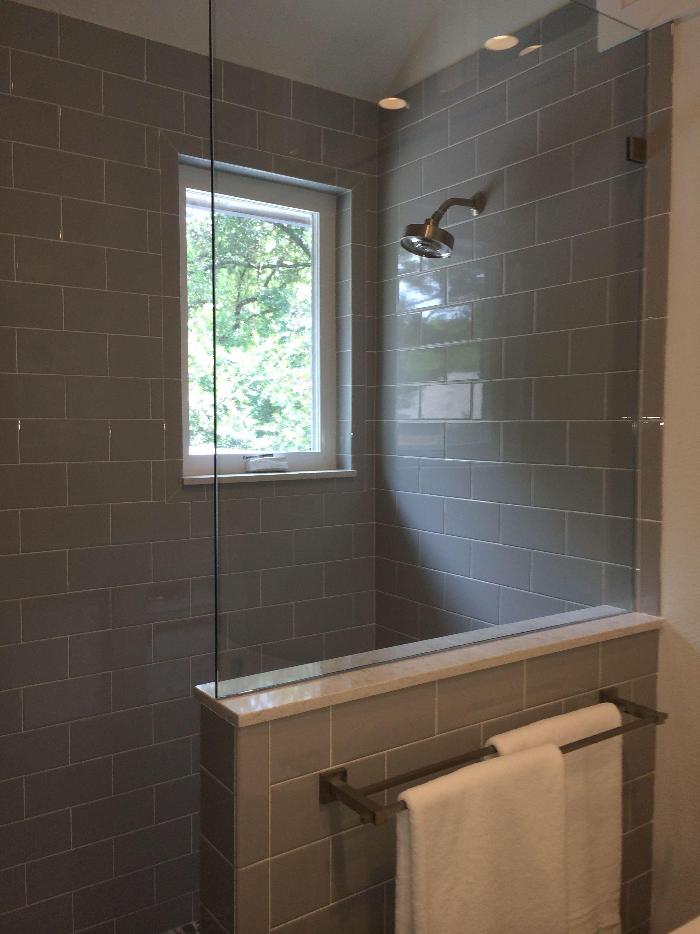 Pony Wall Into Shower Custom Barn Doors Attic Spaces Pony Wall