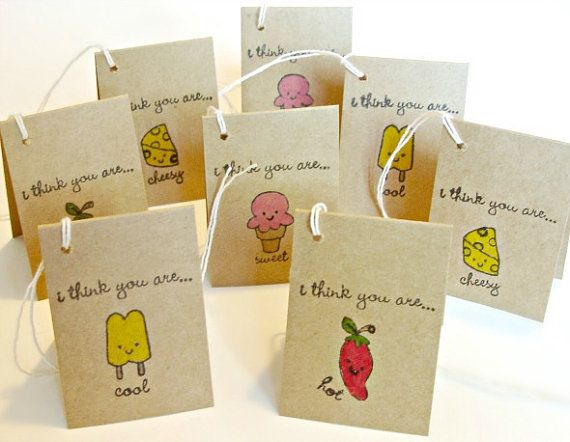 Mini Note cards handcrafted