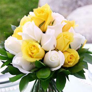 Outdoor Wedding Reception Ideas Yellow Wedding Flowers White