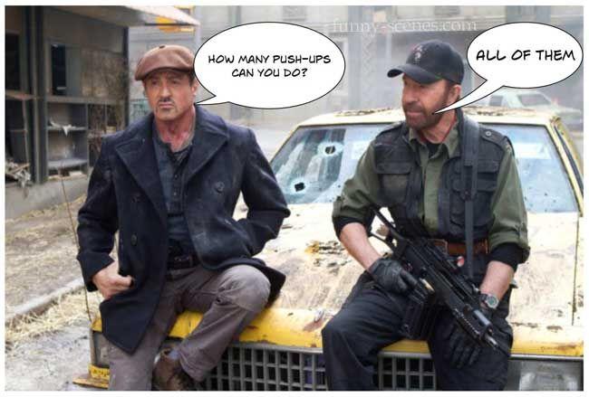 Chuck Norris Decides What Time It is Mens Vest