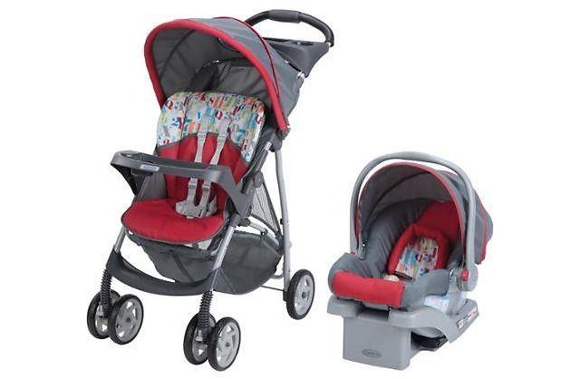 Graco LiteRider Travel System SnugRide Infant Car Seat $109.97 ...