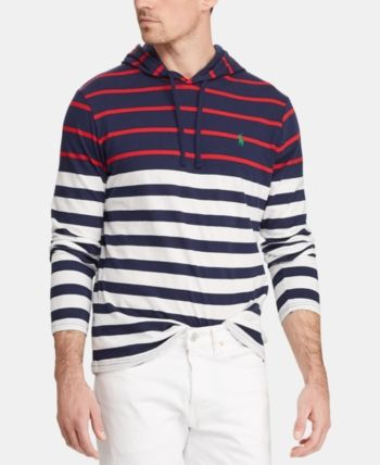 In T Ralph Striped Shirt Men Lauren Hooded Polo 2019Products JTKF1lc