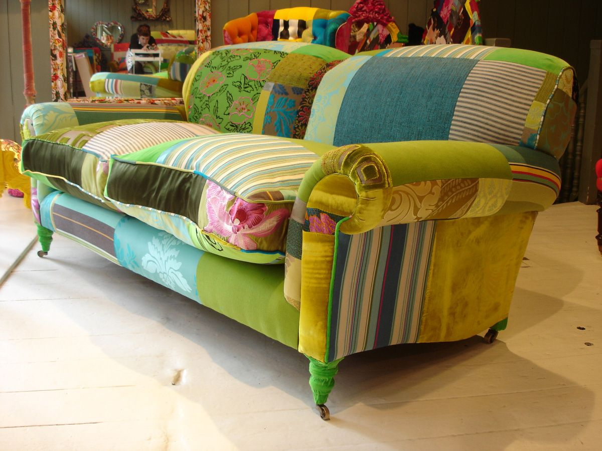 Some More Happiness Squint Bespoke Sofa Revamped