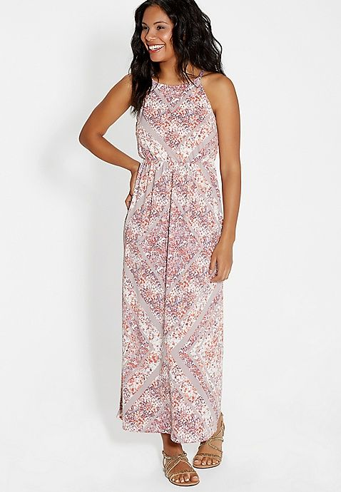 fd12f9dbc3eb Maxi dress in floral print