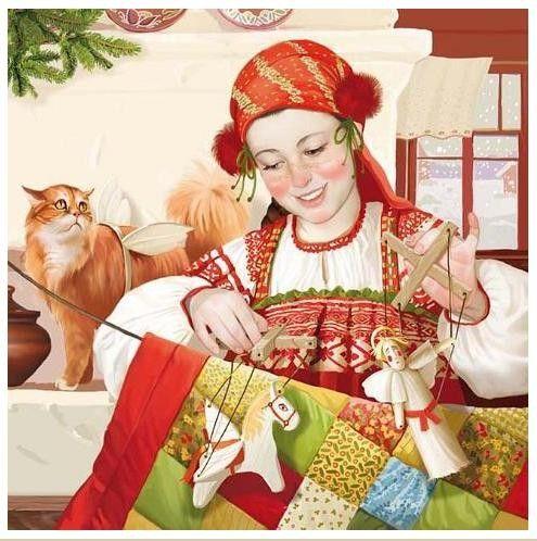 Beaux tableaux de Tatiana Doronina