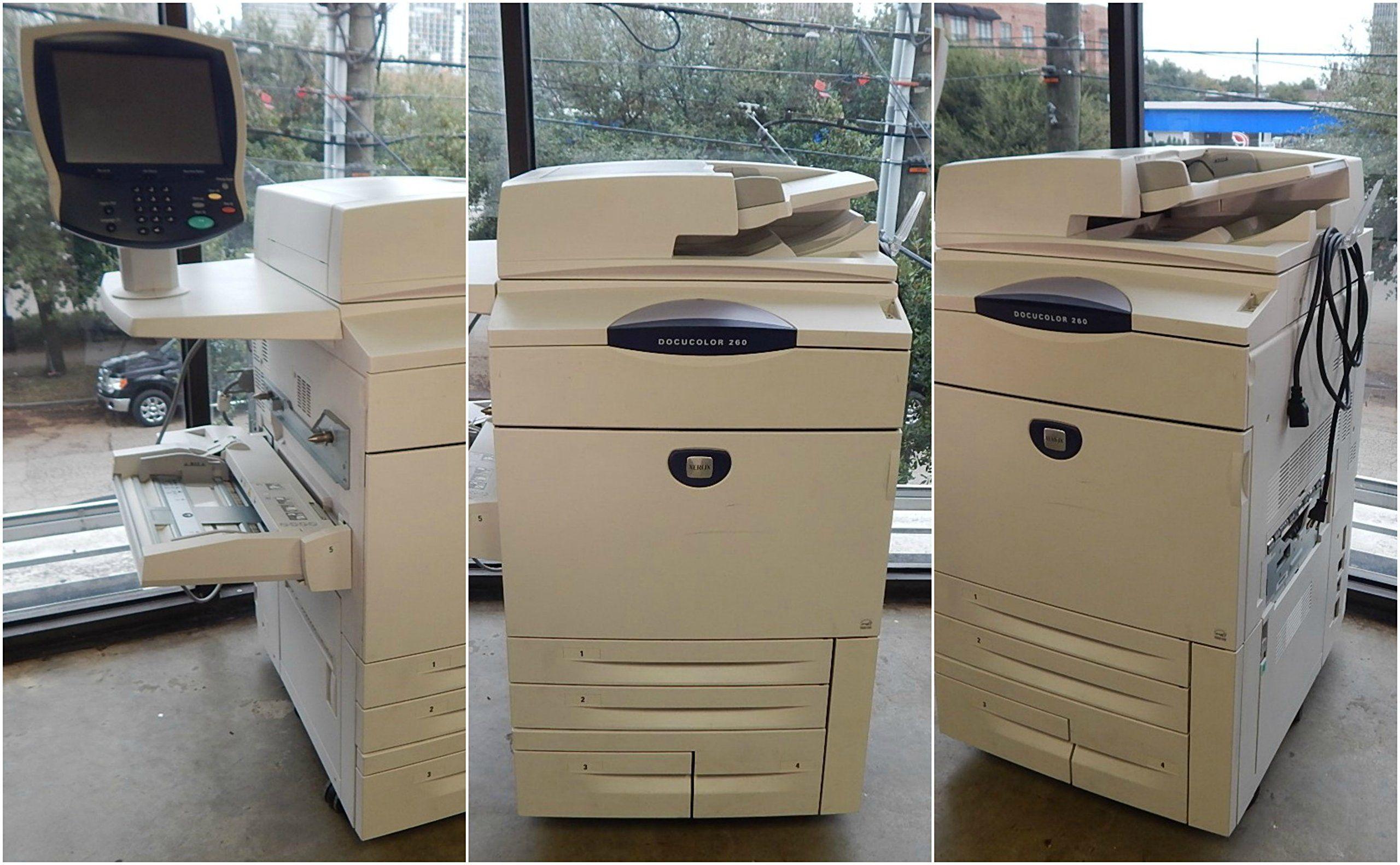 Xerox Docucolor 260 Color Copier Color Home Appliances Trash Can