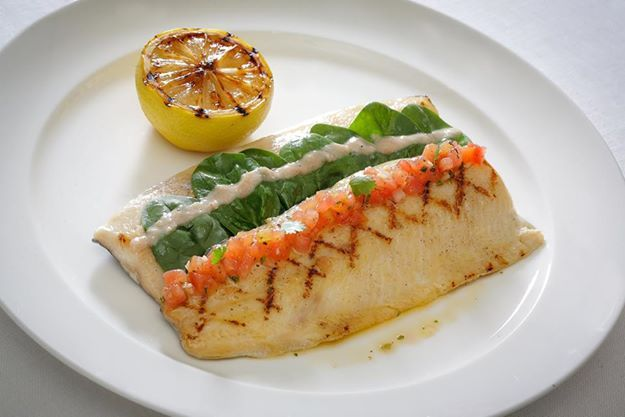 Pan-fried Rainbow Trout