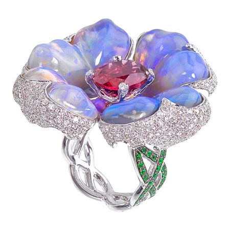 Katherine Jetter Jewels - Jewelry - Exotic Flowers