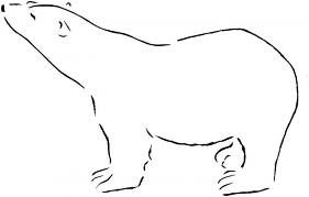 google polar bear coloring pages-#24