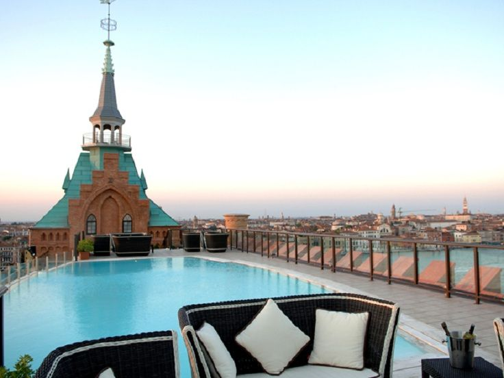 TOP 10 Most Spectacular Rooftop Hotel Pools | Venice italy ...