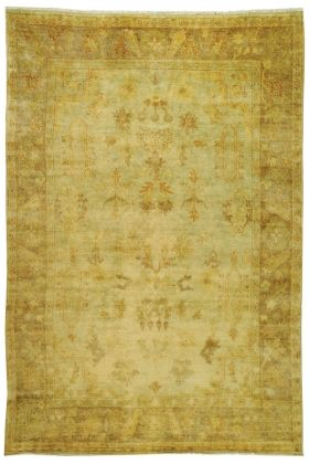 Safavieh Oushak OSH-112 Soft Green, Rust (A) Area Rugs DR