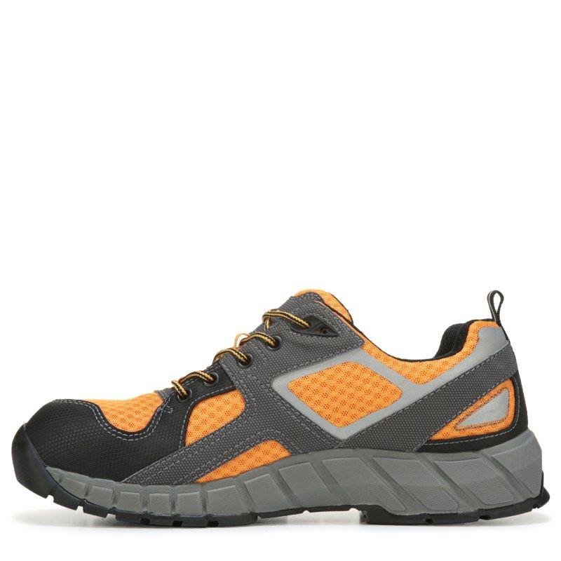 Mens Caterpillar Gain MediumWide Steel Toe Work Sneaker Marigold