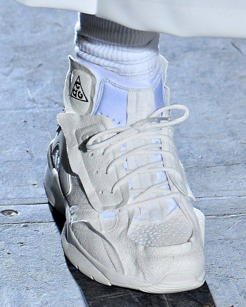 hot sale online 8d1f2 16e6b Collaboration Comme des Garcons x Nike ACG sneaker seen