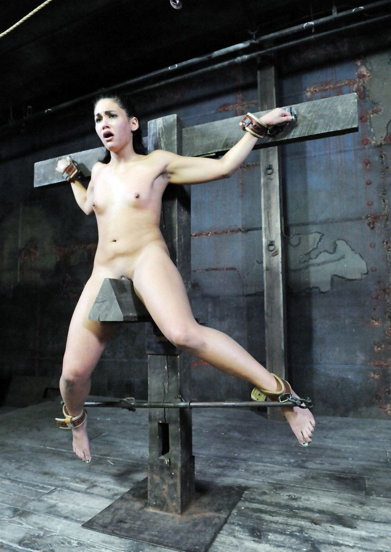 a wooden pony bdsm making