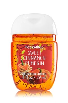 Sweet Cinnamon Pumpkin Pocketbac Sanitizing Hand Gel Bath