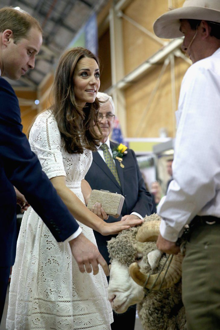 Pin for Later: The Royal Couple Trade Fred the Ram For a Day at the Beach