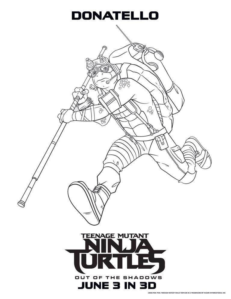 31++ Teenage mutant ninja turtle coloring page info