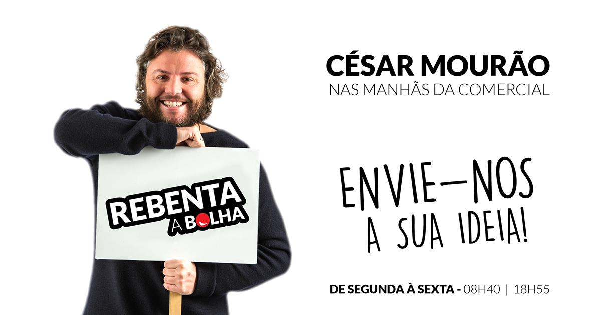 Desafie o César Mourão!