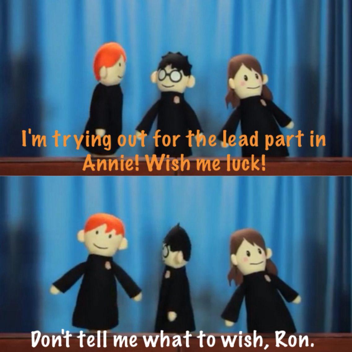 Harry Potter Puppet Pals Neville S Birthday Harry Potter Puppets Harry Potter Puppet Pals Potter Puppet Pals