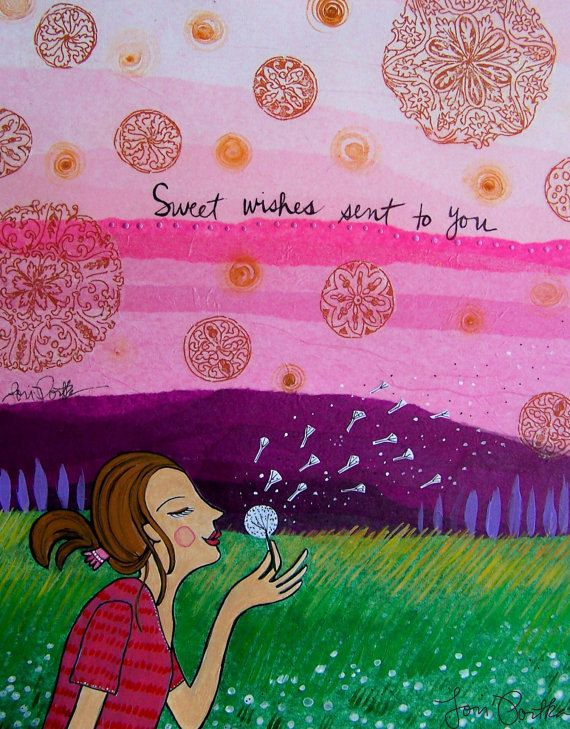 Sweet Wishes Sent to You by Lori Portka