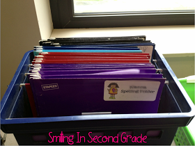 Smiling in Second Grade: Word Work