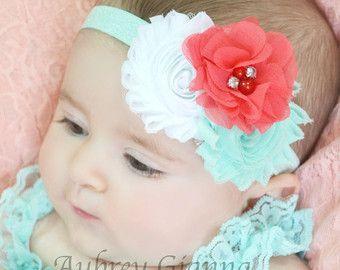 Marfil y Aqua venda venda del bebé niño venda por AubreyGianna