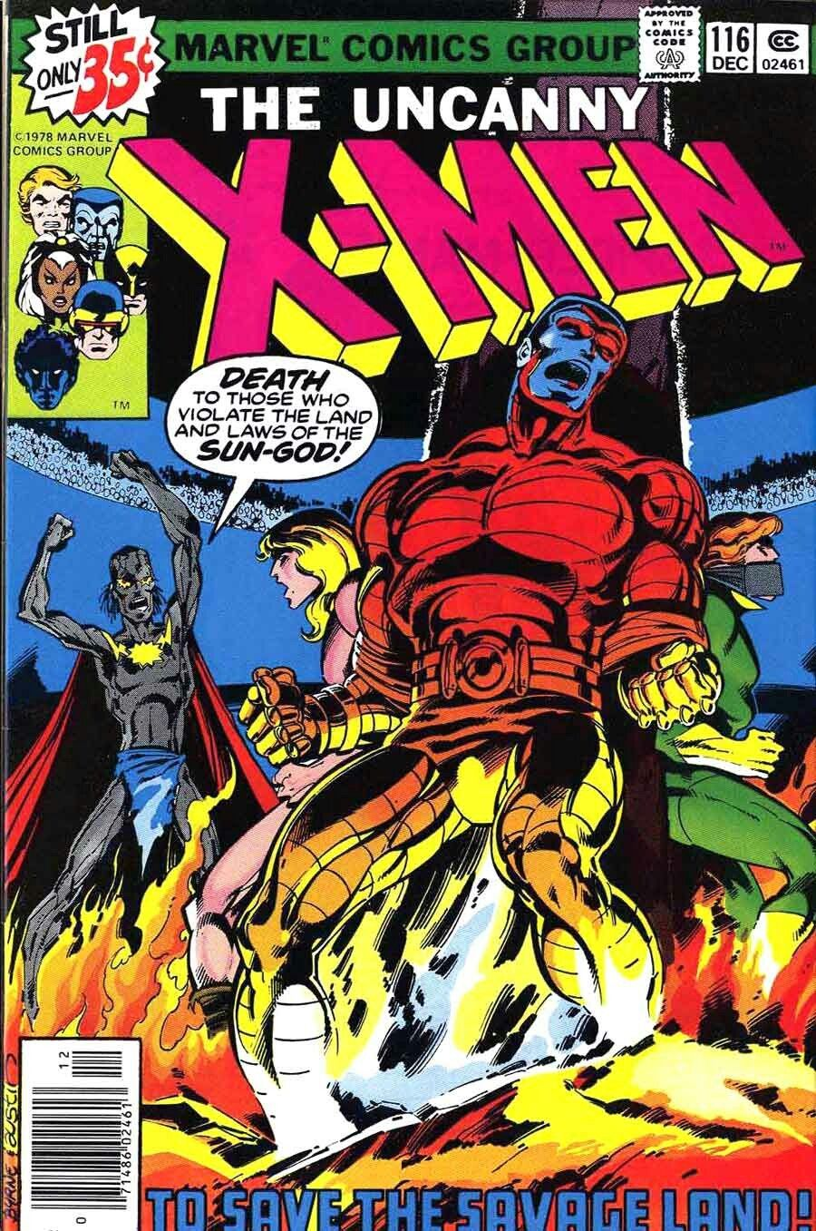 The Uncanny X Men 116 Comic Book Covers Comics Comic Covers