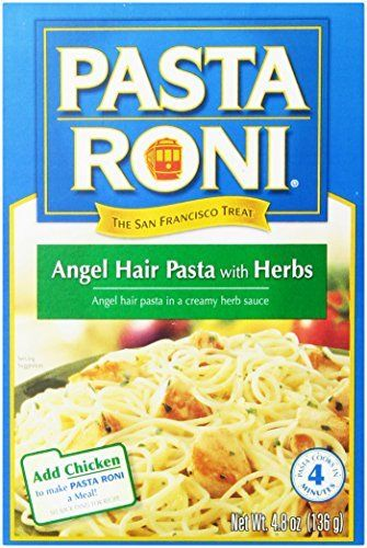 Pasta Roni Angel Hair With Herbs 4 8 Oz By Via Https