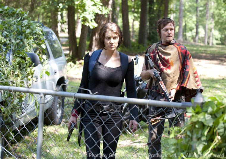"""The Walking Dead """"Say The Word"""" (S03E05), Daryl & Maggie leave the prison in search of formula & other supplies for the baby. This location was used to film the day care facility that they scavenge."""