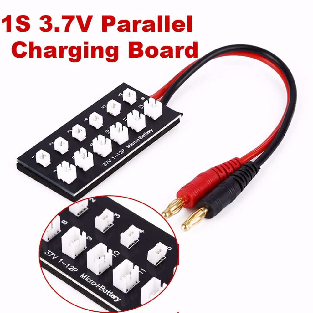 Toys car battery  RC Helicopter Car V Battery Parallel Charging Panel Board With