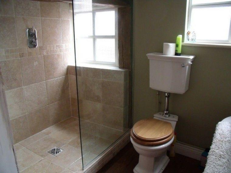 Baños pequeños con ducha - 38 diseños de moda | Duchas, Baño pequeño ...
