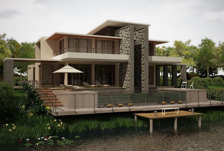 Lake House by Zodev Design on deviantArt