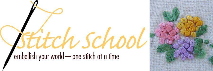 Stitch School - excellent blanket stitch tutorial