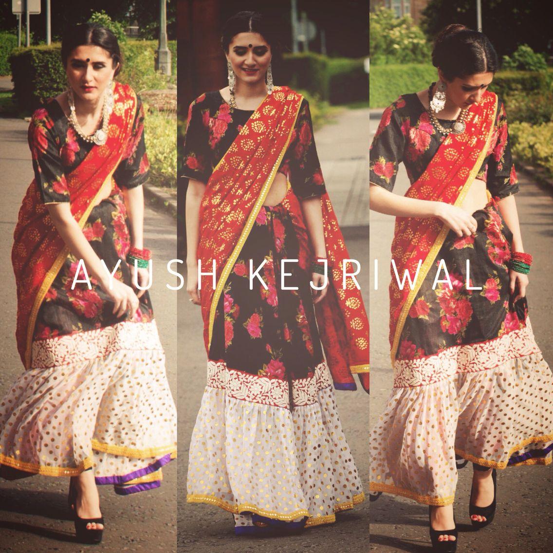 Saree By Ayush Kejriwal For purchases email me at ayushk