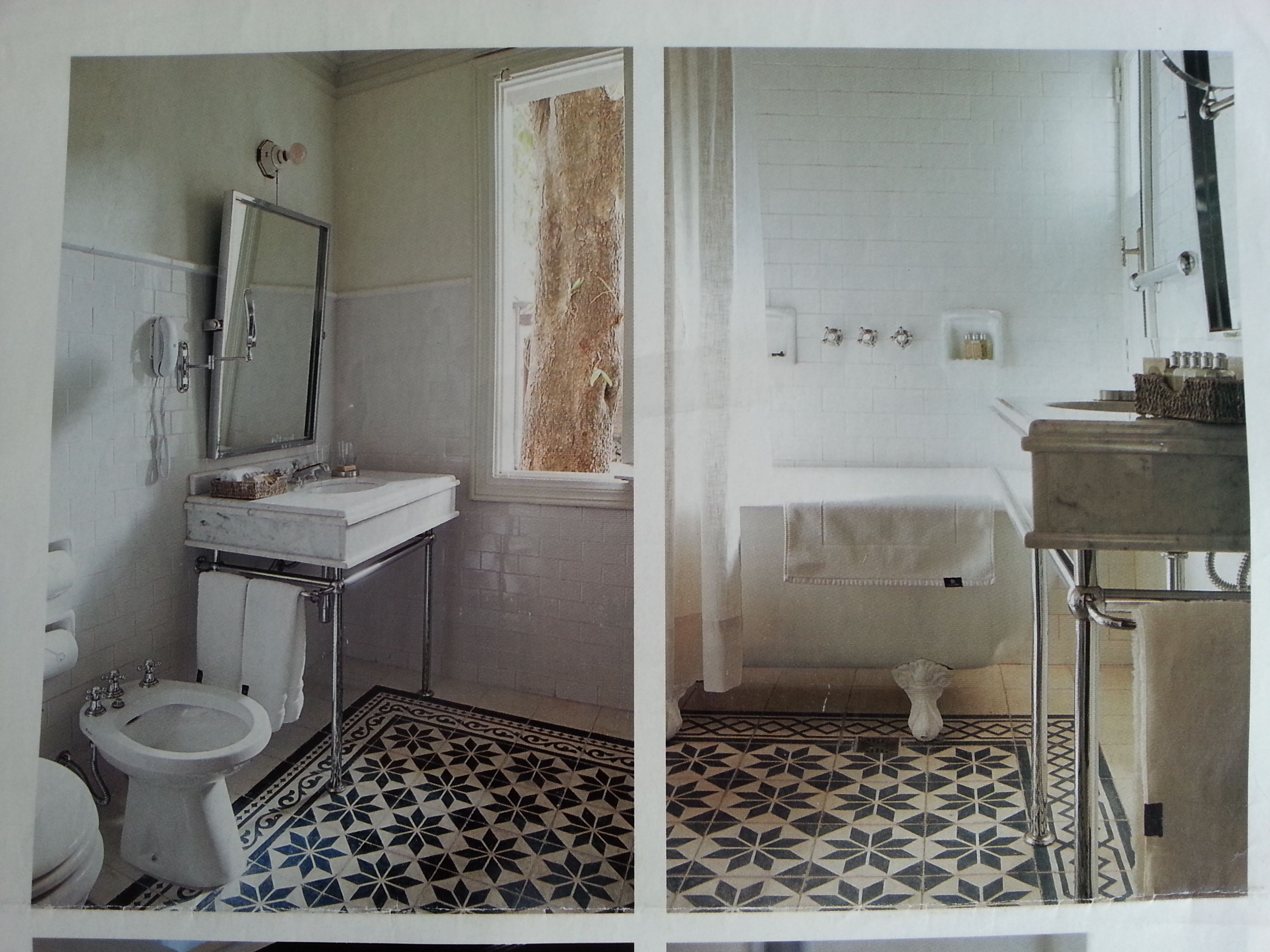 Mosaicos calcareos en ba os ba o pinterest mosaicos - Mosaicos para banos ...