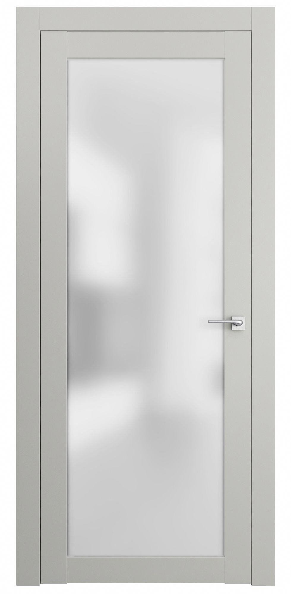 Natural Veneered Wooden Flush Door Design Mdf Living Room: Sarto Planum 2102 Interior Door Matte Gray
