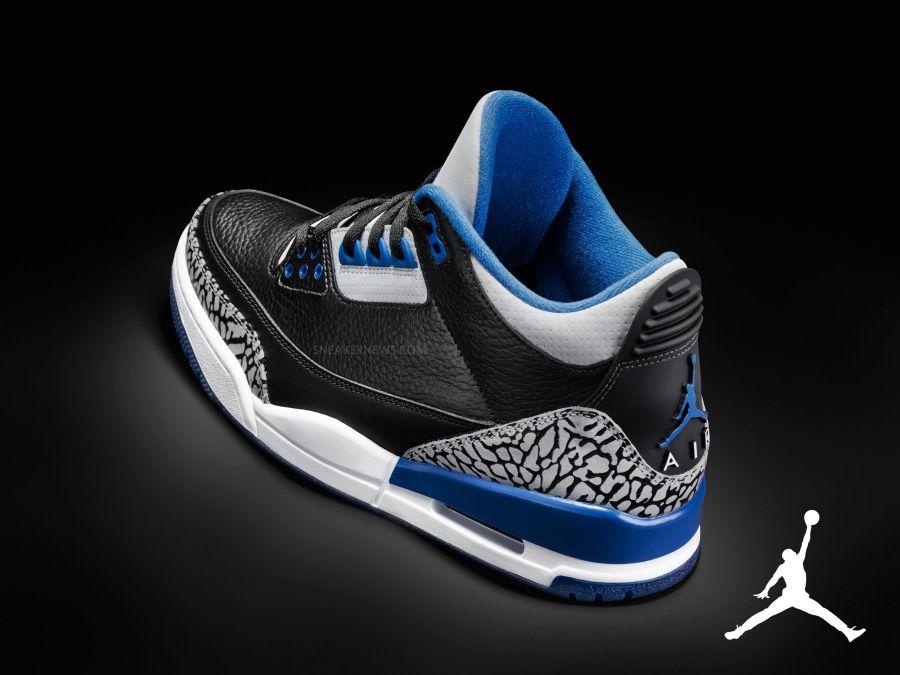 "Air Jordan 3 ""Sport Blue"" My Favorites Air jordans"