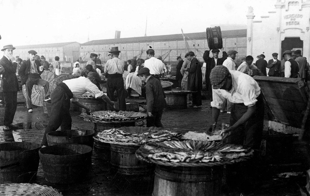 Barcelona 1923 Mercat Peix  © AFB
