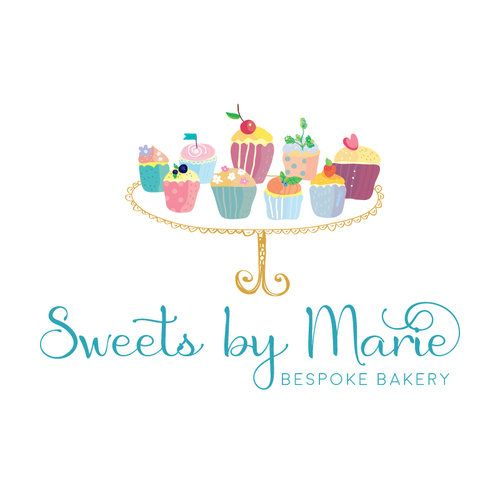 Cupcakes Premade Logo Design - Customized with Your Business Name ...