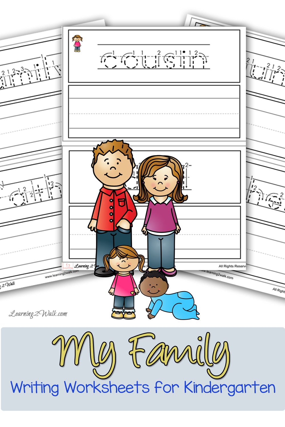 These my family writing worksheets for kindergarten were a hit for – Family Worksheets Kindergarten